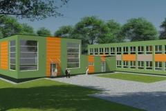 Sala gimnastyczna przy Szkole Podstawowej w Choroniu